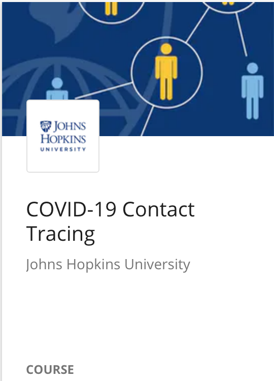 Free COVID-19 Contact Tracing Course